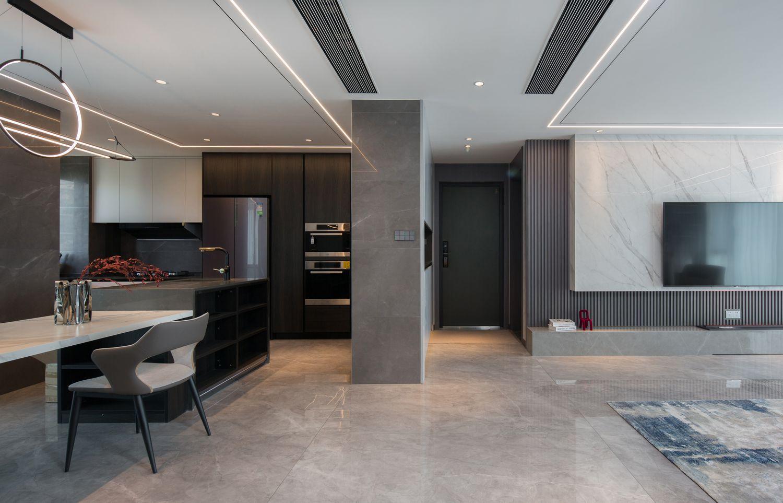 现代简约-时代悦城192㎡- 四室两厅装修案例