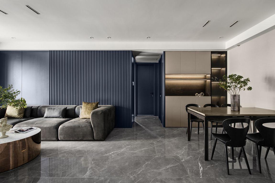 现代简约-奥体尚府142平米- 三室两厅装修案例