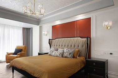 美式风格-城市嘉苑240㎡-四室两厅装修案例