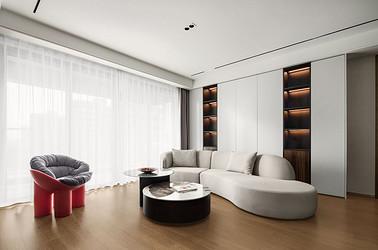 现代简约-仁恒公园世纪135㎡- 四室两厅装修案例