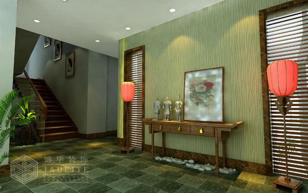 泰州华侨城2装修-别墅-新中式