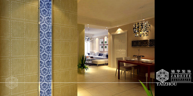 同悦容园装修-两室两厅-现代简约