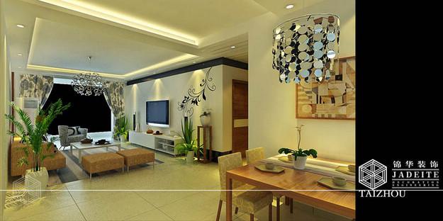 稻河湾装修-三室两厅-现代简约