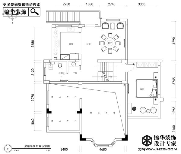 雅韵-蓝波湾装修-别墅-新中式