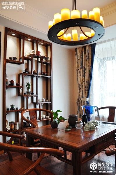 雅韵-高港栖园装修-两室两厅-新中式