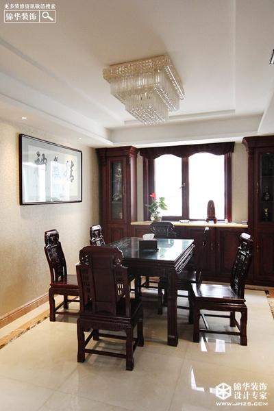 持壶沏茶,品读人生-万达花园装修-两室两厅-新中式