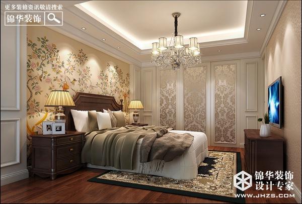 高雅素净-华润国际装修-两室两厅-美式田园