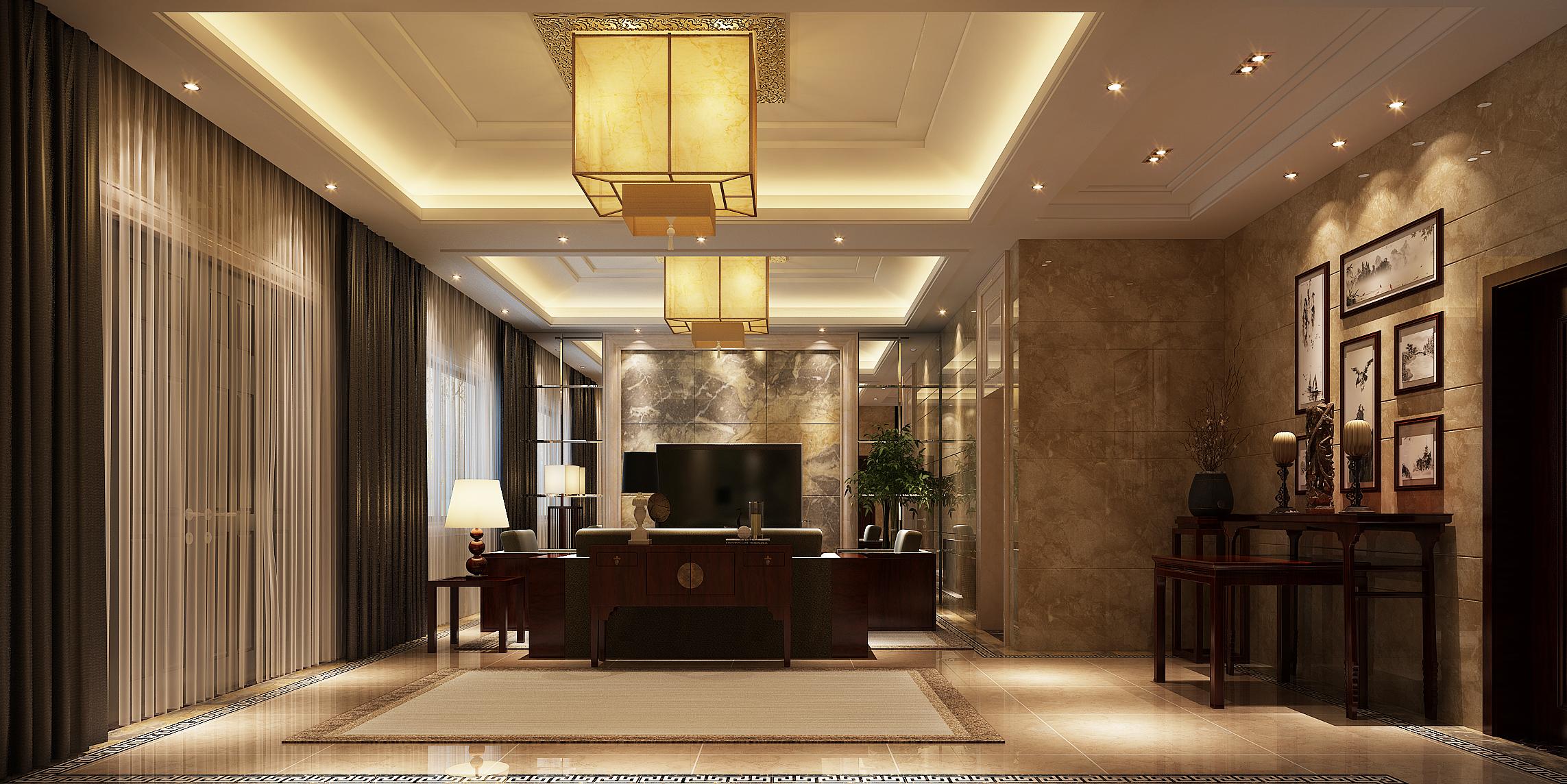 碧桂园—独栋别墅—古典中式