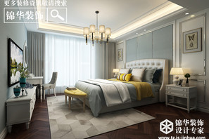 东润首府-欧式风格-四室两厅-180平-全案造价45万