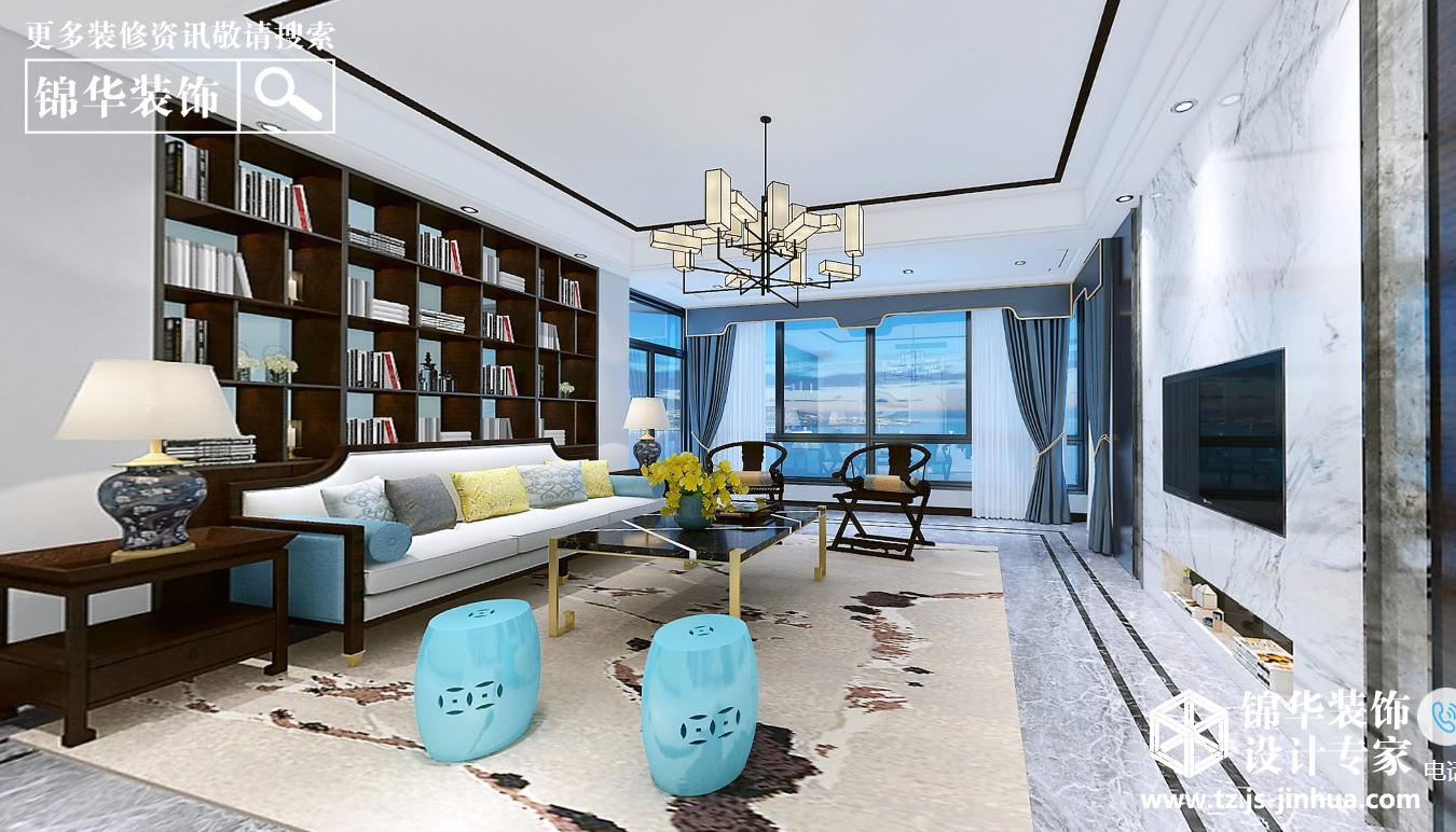 栖园-新中式风格-复式180平-全案造价60万