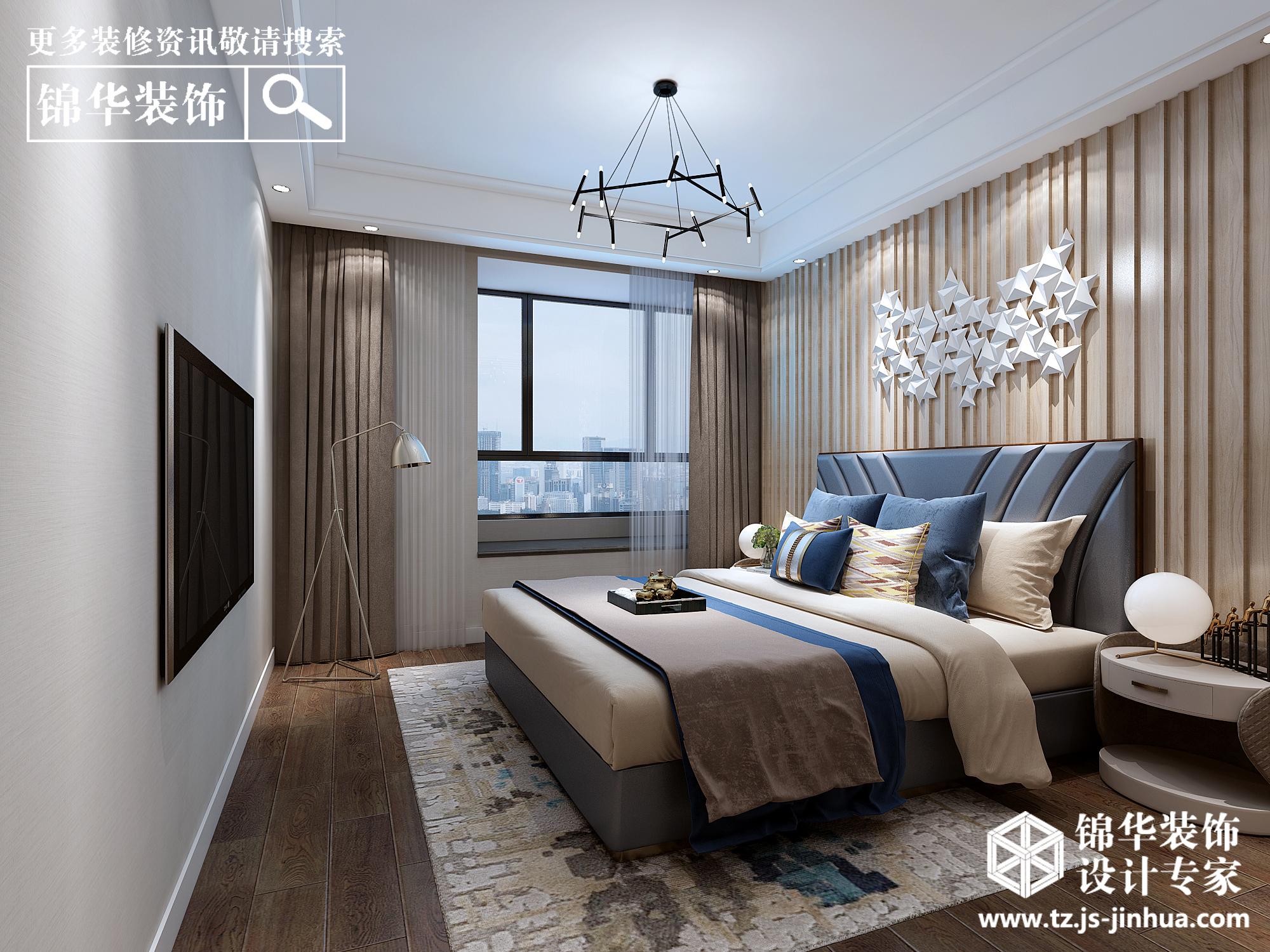 现代简约-中天清华园-三室两厅两卫-147平米-全案造价26.6万