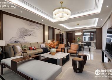 新中式-金通桂圆-大平层-218平米-实景案例