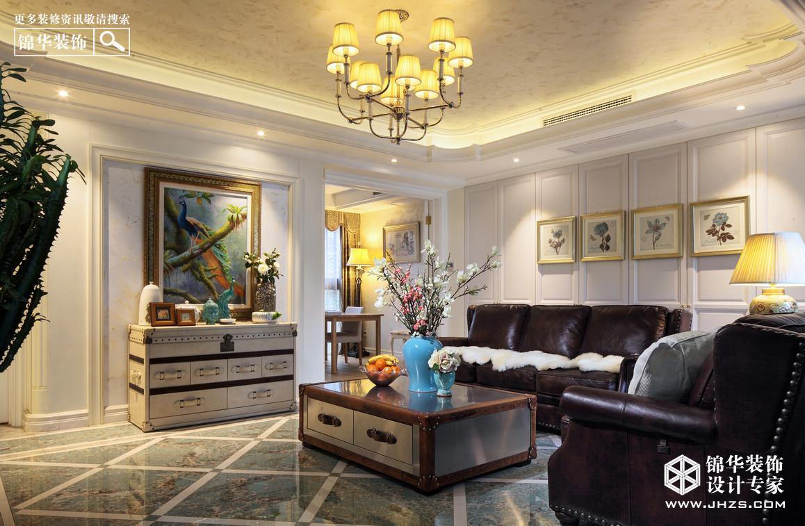 欧式古典-三室两厅-144平米-实景案例