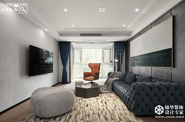现代简约-两室两厅-110平米-实景案例