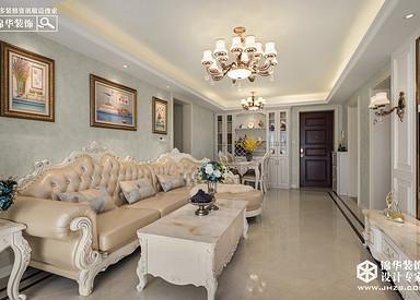 简欧风格-三室两厅-115平米-实景案例