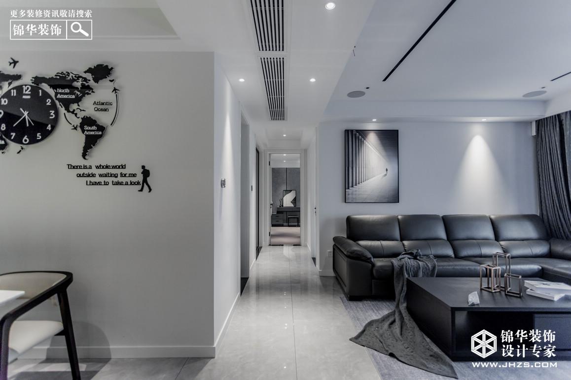 现代简约-华润国际-三室两厅-142平米