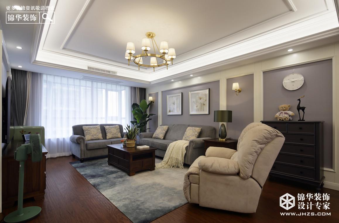 简美风格-三室两厅-140平米-实景案例