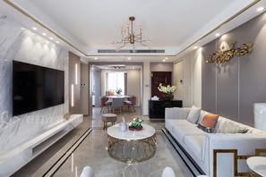现代轻奢-三室两厅-125平-实景案例