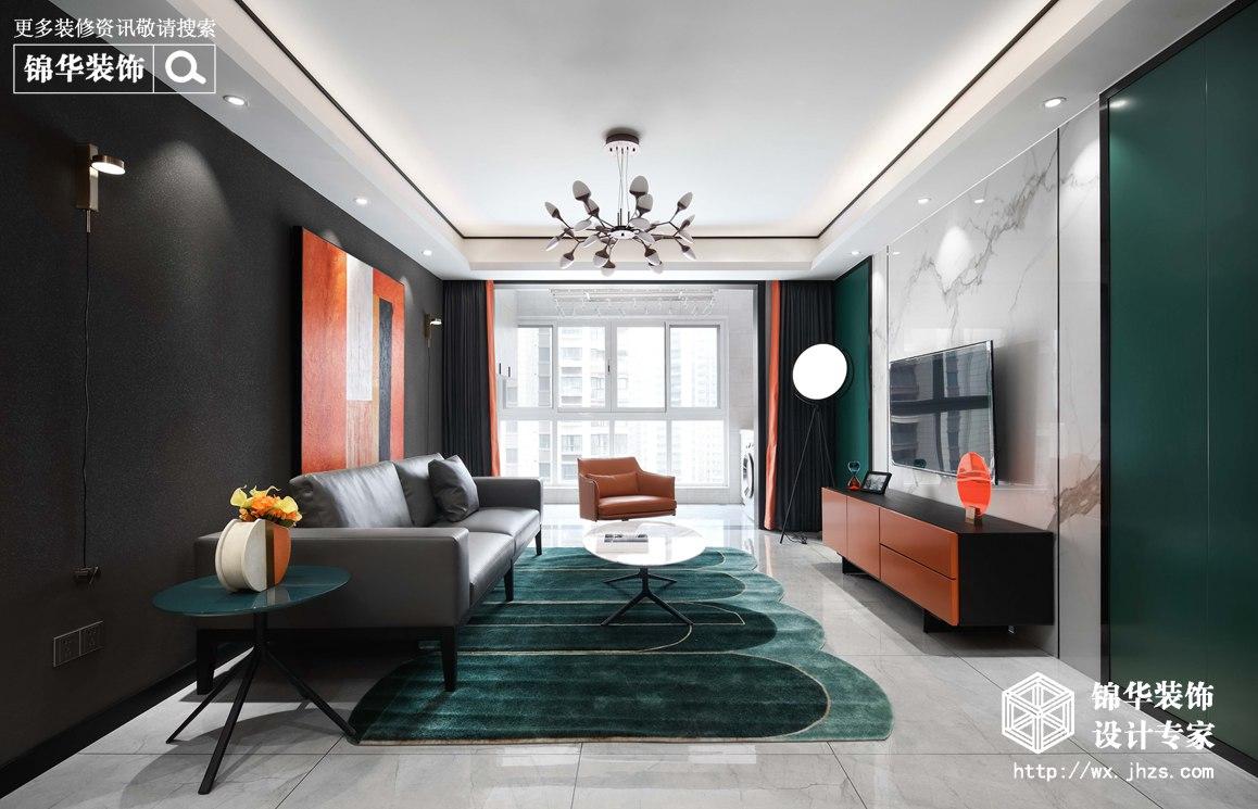 现代轻奢风格--三室两厅-137平-实景案例