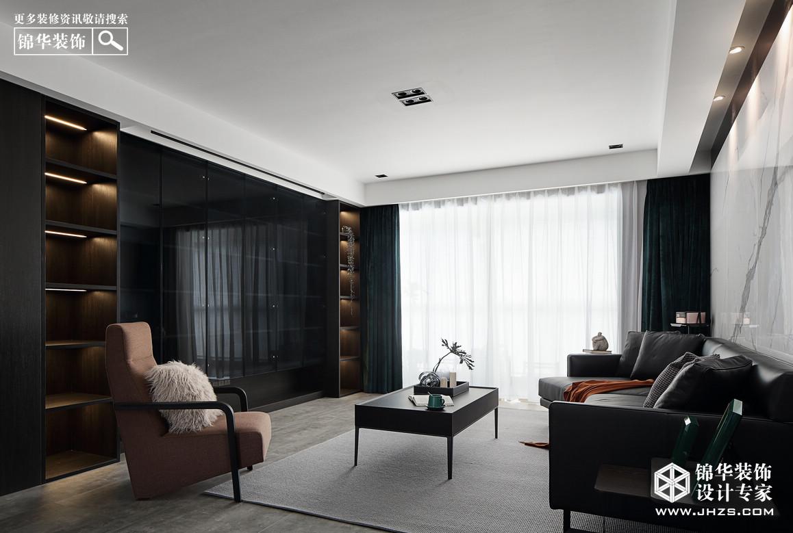 现代简约-三室两厅-126平-实景案例