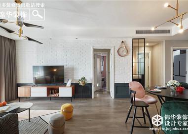北欧风格-120平-三室两厅--全案17万