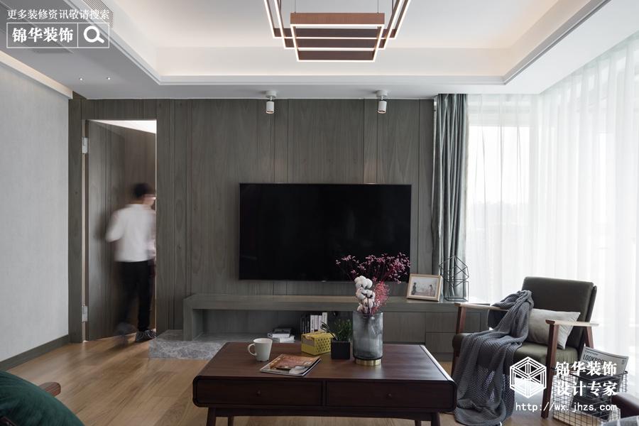 现代风格-四室两厅-177平-装修实景效果图
