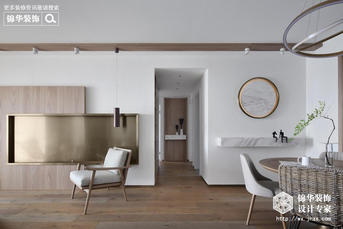 现代风格-三室两厅-143平-装修实景效果图