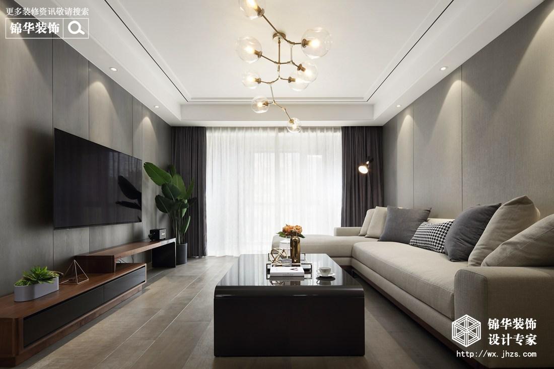 现代简约-三室两厅-实景案例