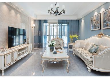简欧风格-金水湾-三室两厅-135平米-实景案例