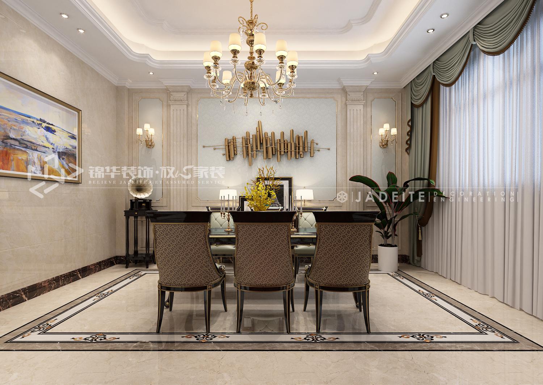 姜堰私宅-800㎡-欧式古典-别墅装修效果图