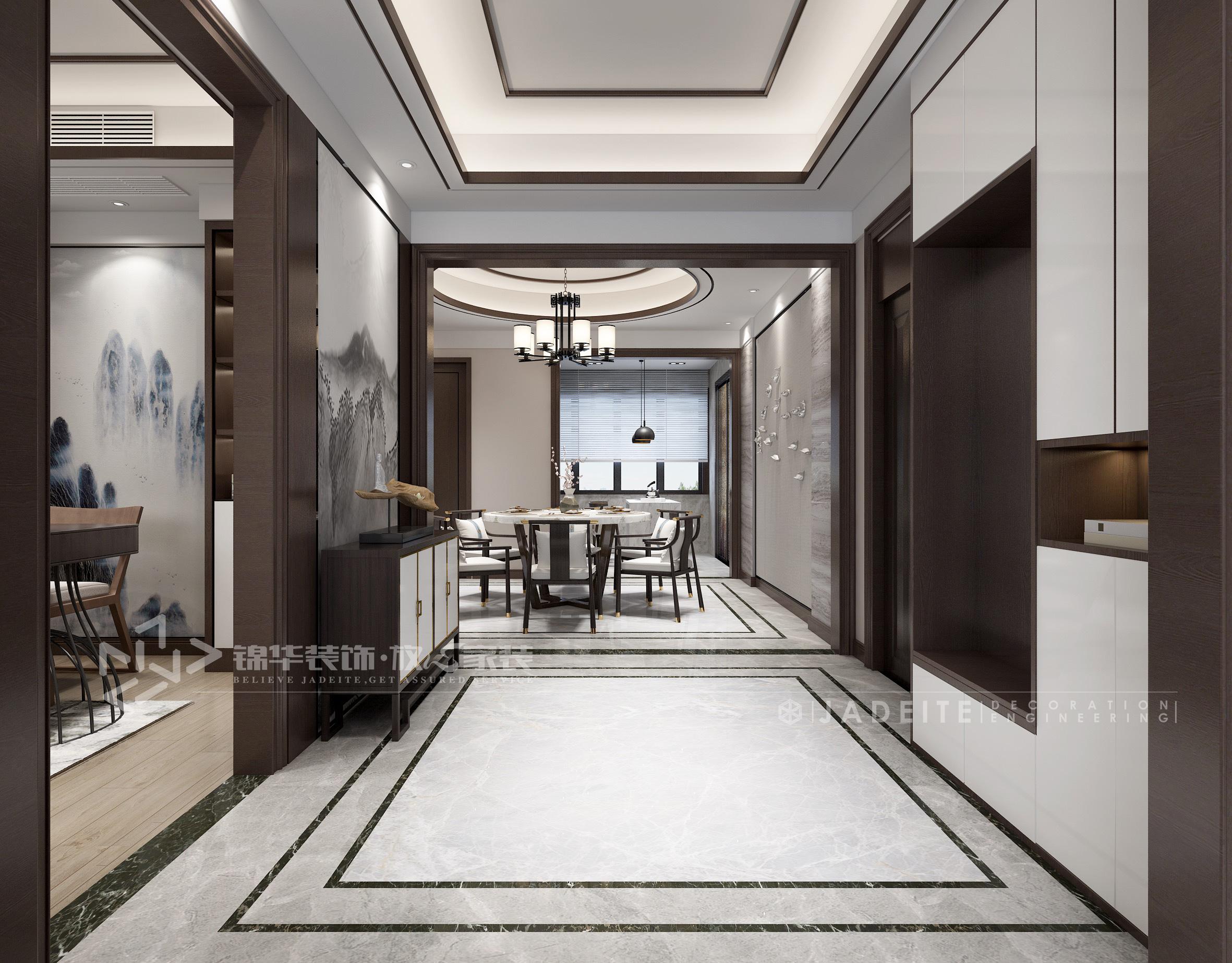 香樟湾-新中式-175㎡-三室两厅