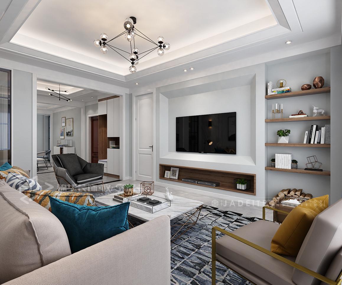 华盛香樟湾-现代简约-175㎡-四室两厅