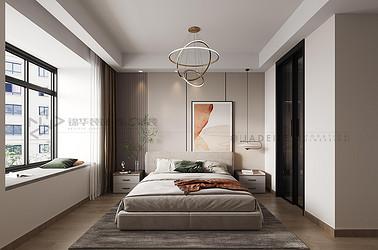 世茂璀璨泱颂-现代风格-119㎡-三室两厅