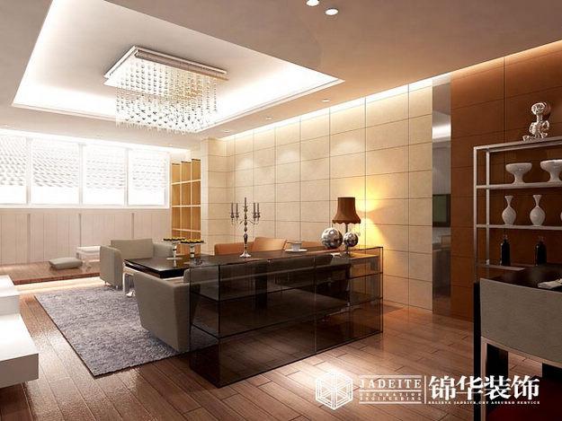 都市豪庭装修-三室两厅-现代简约