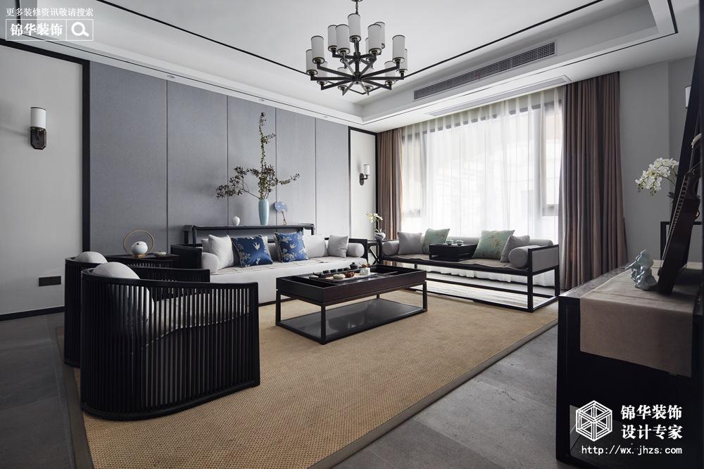 380平新中式风格实景图