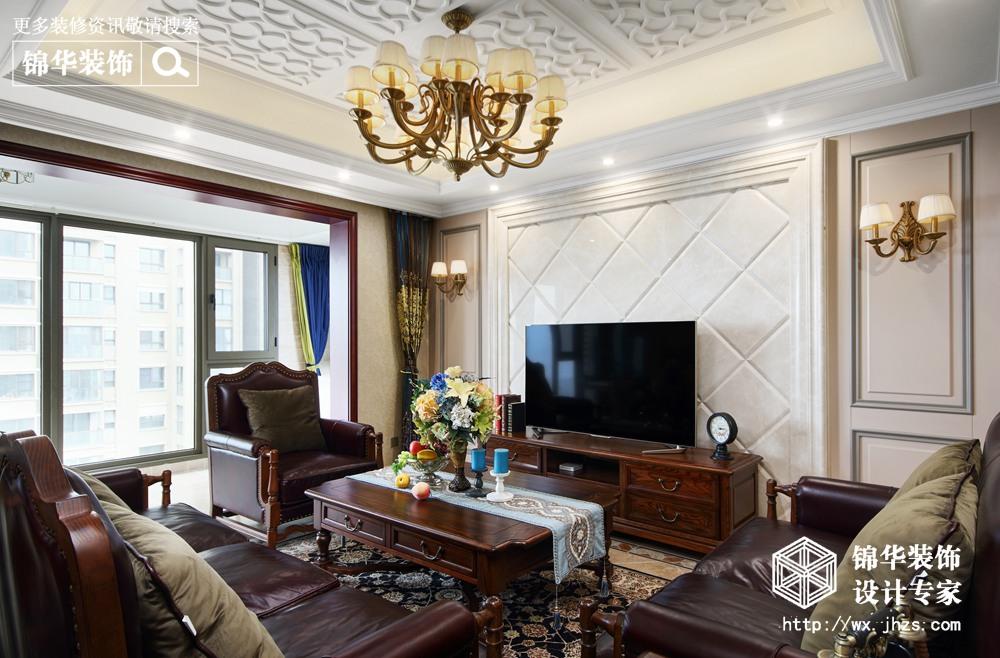 179平美式风格实景图装修-四室两厅-美式田园