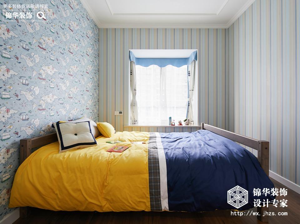 时尚美家140平美式风格实景图装修-三室两厅-简美