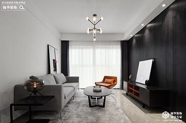 现代风格-两室两厅-85平-装修实景效果图