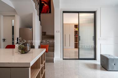 混搭-K2海棠湾-85平-三室两厅-装修效果实景图