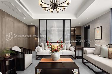 新中式-明珠城香湖苑-210平-装修效果实景图
