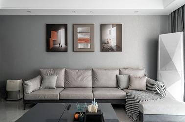 现代风格-紫来华府-三室两厅-136平-装修实景效果图