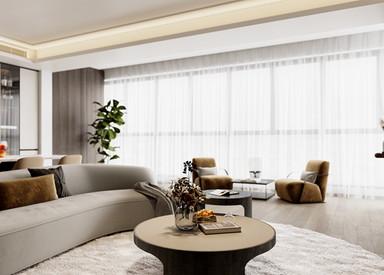 现代简约-观枫四季-四室两厅-182平-装修效果图