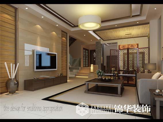 中国风装修-两室一厅-新中式图片