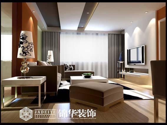 瑞城国际装修-两室一厅-现代简约
