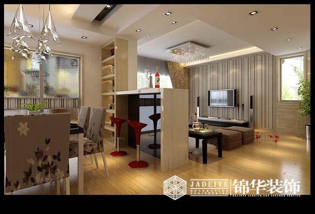 影印优雅装修-两室一厅-现代简约