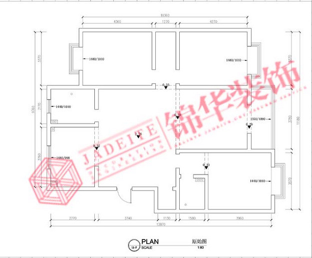 都市生活装修-三室两厅装修效果图-现代简约风格