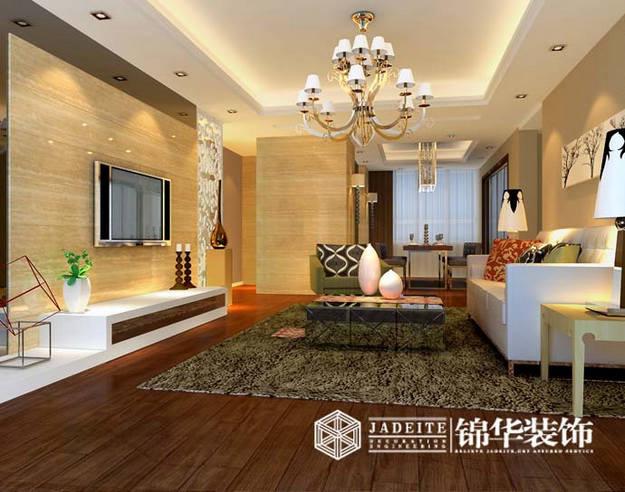 现代简约装修-三室两厅-现代简约