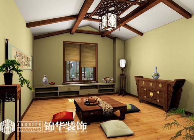 古典中式装修风格 茶室 中式别墅古典中式装修中式设计案