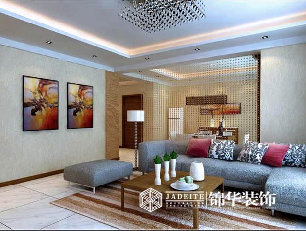 天鹅湖装修-三室两厅-现代简约