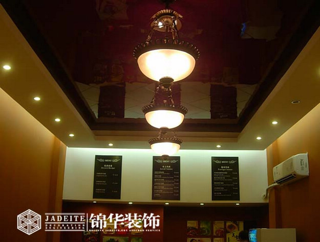 餐饮牛乐颂店装修-小户型-现代简约